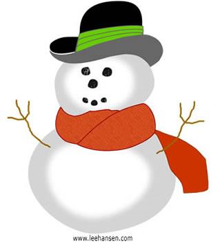 Cute-snowman