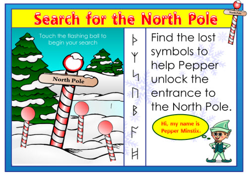 Search for the north pole